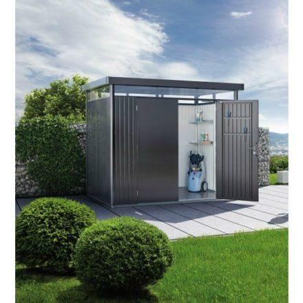 """Gerätehaus """"Highline"""" von Biohort, Größe H2, Variante: dunkelgrau-metallic"""