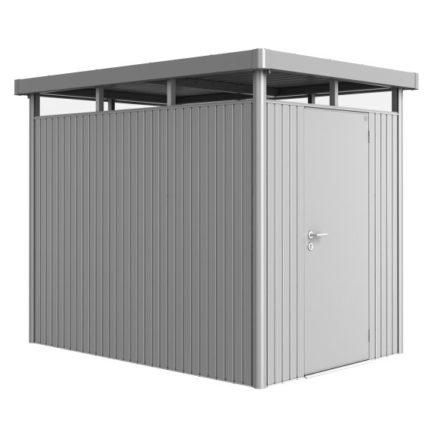 """Gerätehaus """"Highline"""" von Biohort, Größe H2, Variante: silber-metallic"""