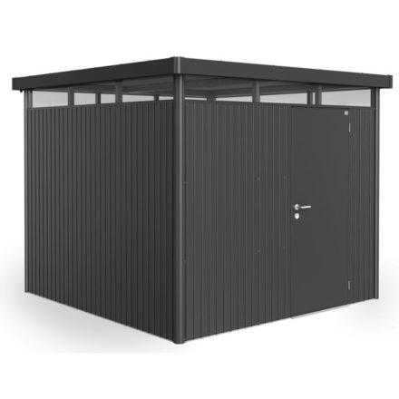 """Gerätehaus """"Highline"""" von Biohort, Größe H4, Variante: dunkelgrau-metallic"""