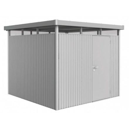 """Gerätehaus """"Highline"""" von Biohort, Größe H4, Variante: silber-metallic"""