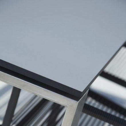 """Ausziehtisch """"Edge"""", Tischplatte HPL grau, von Cane-line"""