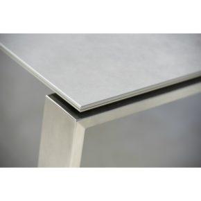 """Ausziehtisch """"Edge"""", Tischplatte Keramik concrete grau, von Cane-line"""