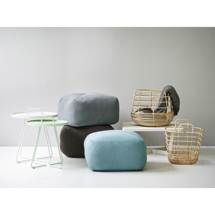cane line divine gartenhocker. Black Bedroom Furniture Sets. Home Design Ideas
