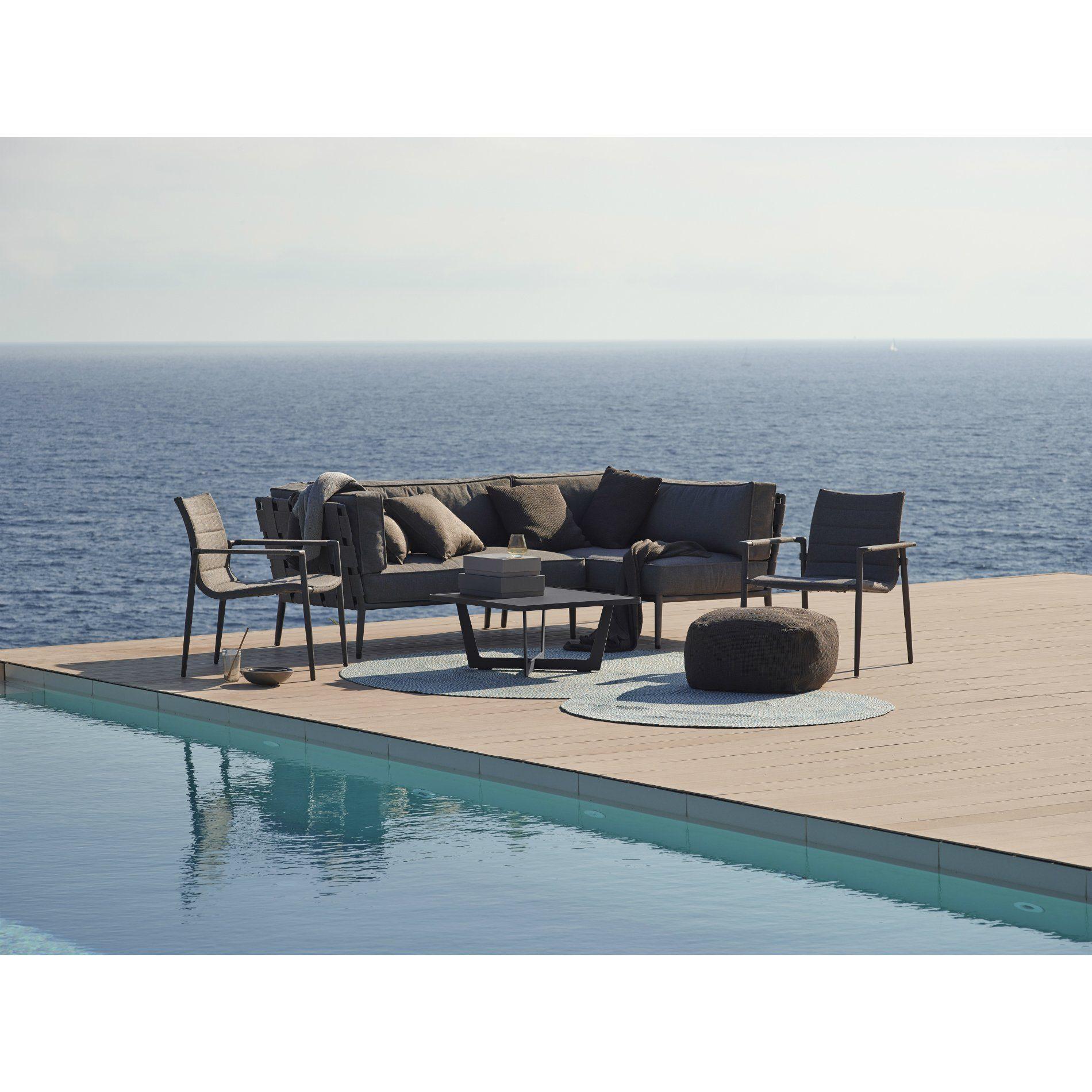 cane line gartenhocker divine. Black Bedroom Furniture Sets. Home Design Ideas