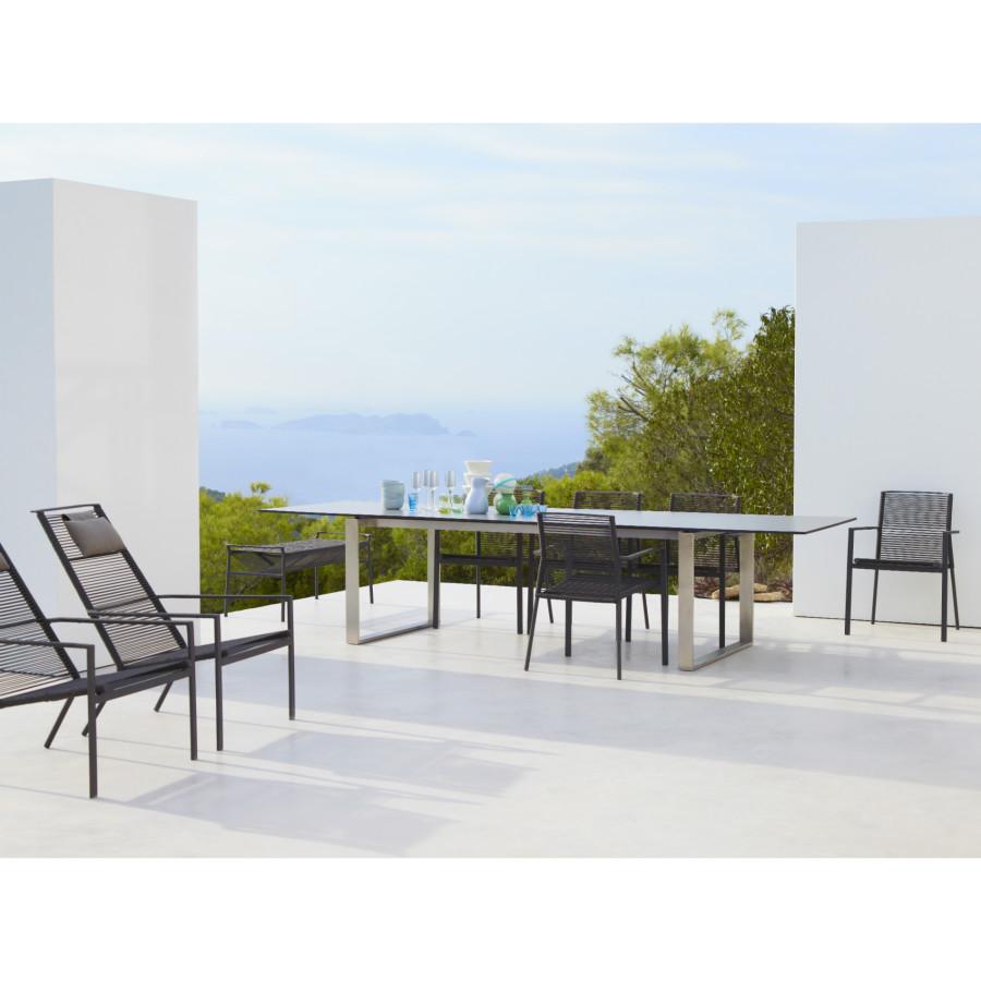 cane line edge highback gartensessel. Black Bedroom Furniture Sets. Home Design Ideas