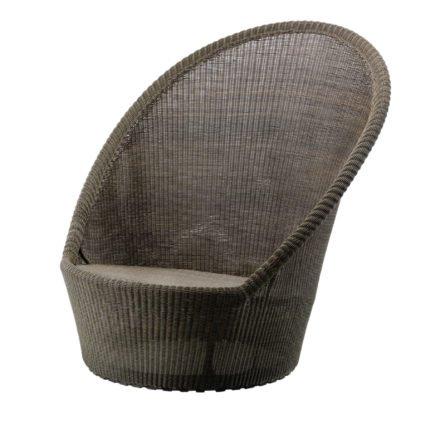 "Sunchair ""Kingston"", Polyrattan mocca, von Cane-line"