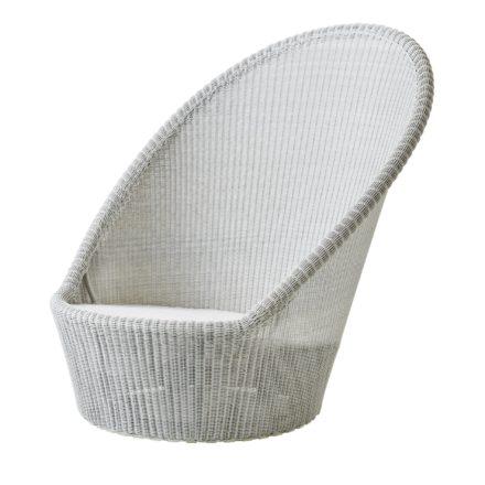 """Sunchair """"Kingston"""", Polyrattan weiß-grau, von Cane-line"""