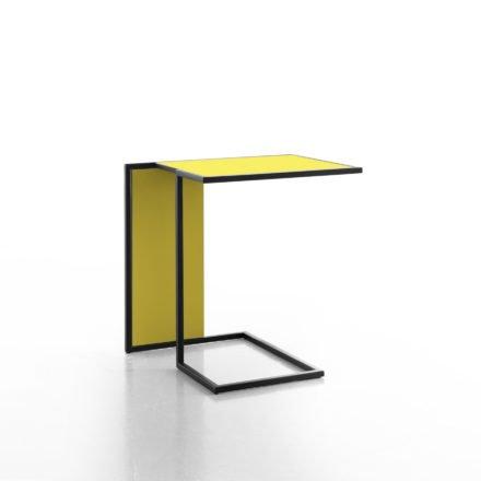 Beistelltisch Riva, gelb