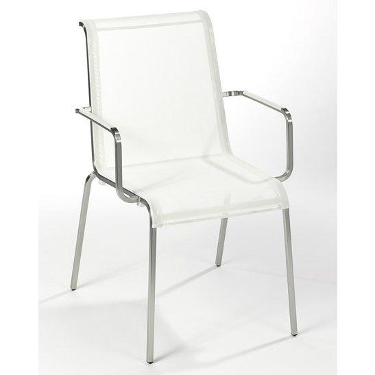 fischer m bel modena gartenstuhl mit armlehnen. Black Bedroom Furniture Sets. Home Design Ideas