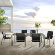Gartentisch Solano, Keramiktisch von Zumsteg mit Gartenstuhl Terra (mit Auflagen)