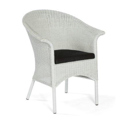 """SonnenPartner Sessel """"Cayman"""", Polyrattan white-washed, Kissen classic-schwarz (separat erhältlich)"""