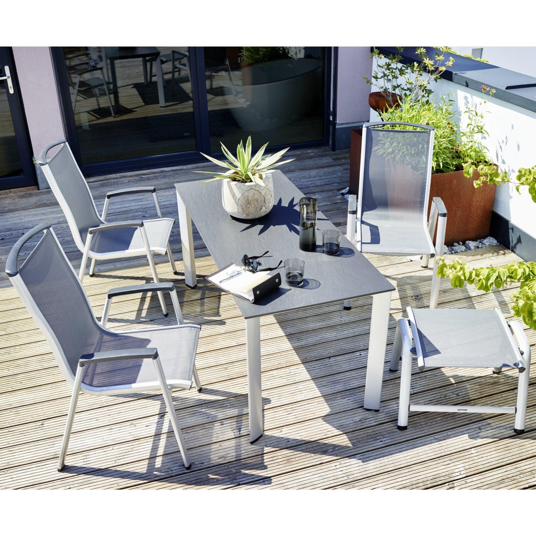 kettler vista stapelsessel. Black Bedroom Furniture Sets. Home Design Ideas