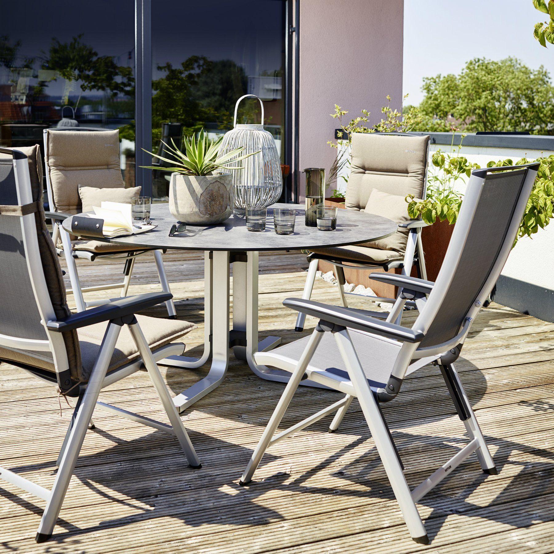 kettler vista multipositionssessel. Black Bedroom Furniture Sets. Home Design Ideas
