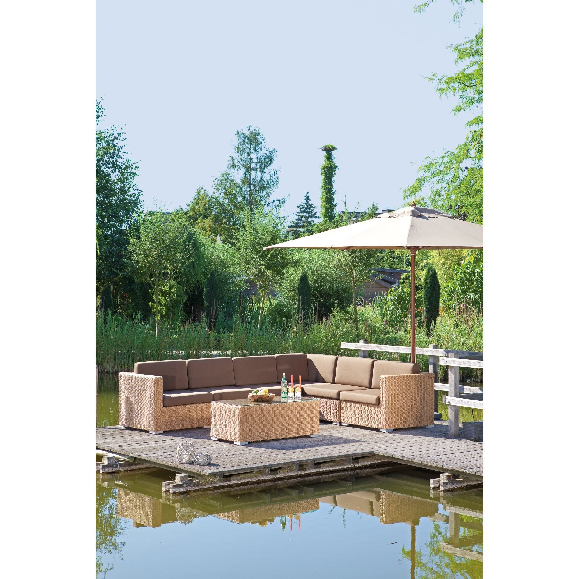 sonnenpartner residence lounge eckteil. Black Bedroom Furniture Sets. Home Design Ideas