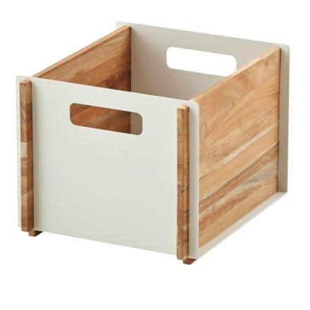 """Aufbewahrungskasten """"Box"""" in weiß von Cane-line"""