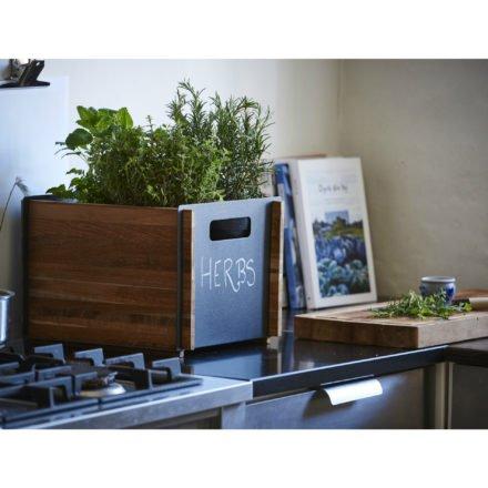 """Aufbewahrungskasten """"Box"""" in lavagrau von Cane-line"""