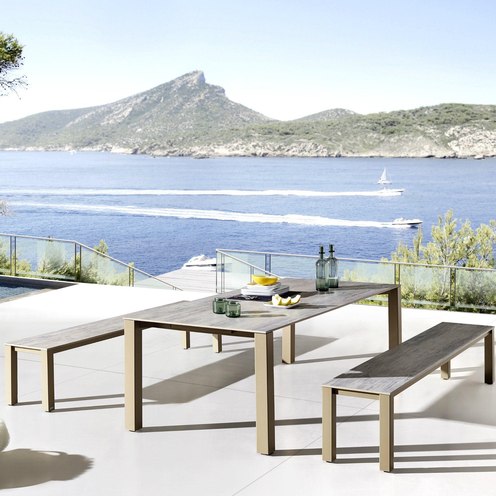 zumsteg lungo gartentisch. Black Bedroom Furniture Sets. Home Design Ideas