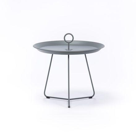 """Tray Table """"Eyelet"""" von Houe, Durchmesser 60 cm, grau"""