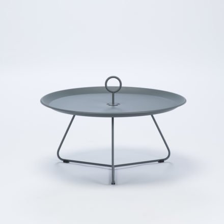 """Tray Table """"Eyelet"""" von Houe, Durchmesser 70 cm, grau"""