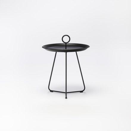 """Tray Table """"Eyelet"""" von Houe, Durchmesser 45 cm, schwarz"""