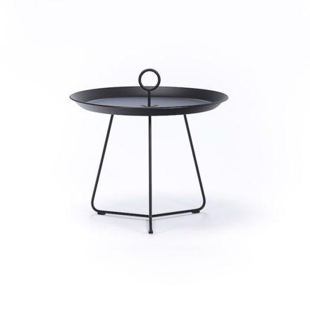 """Tray Table """"Eyelet"""" von Houe, Durchmesser 60 cm, schwarz"""