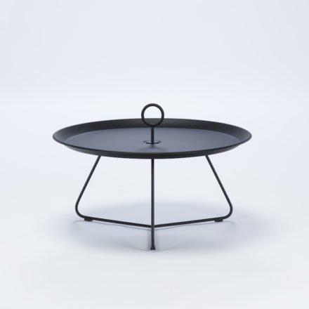 """Tray Table """"Eyelet"""" von Houe, Durchmesser 70 cm, schwarz"""