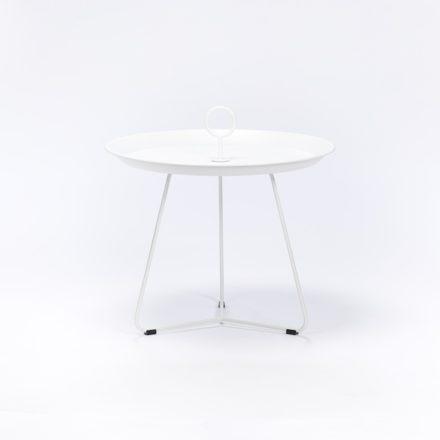 """Tray Table """"Eyelet"""" von Houe, Durchmesser 60 cm, weiß"""