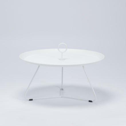 """Tray Table """"Eyelet"""" von Houe, Durchmesser 70 cm, weiß"""