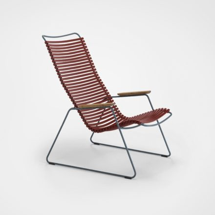 """Houe """"Click"""" Lounge Chair, Farbe paprika"""