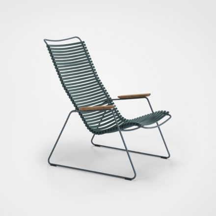 "Houe ""Click"" Lounge Chair, Farbe pine green"