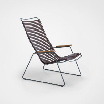 "Houe ""Click"" Lounge Chair, Farbe plum"