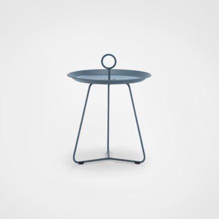 """Tray Table """"Eyelet"""" von Houe, Durchmesser 45 cm, midnight blue"""