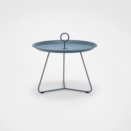 """Tray Table """"Eyelet"""" von Houe, Durchmesser 60 cm, midnight blue"""