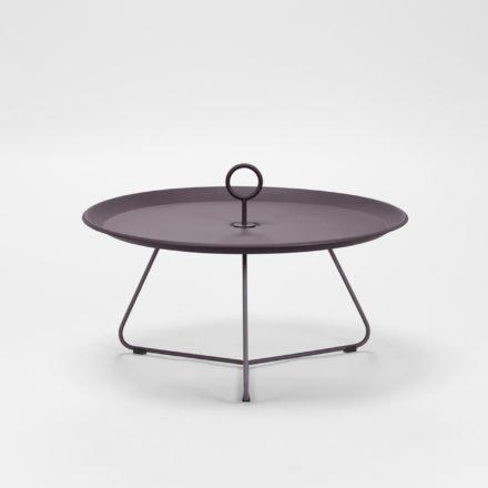 """Tray Table """"Eyelet"""" von Houe, Durchmesser 70 cm, plum"""