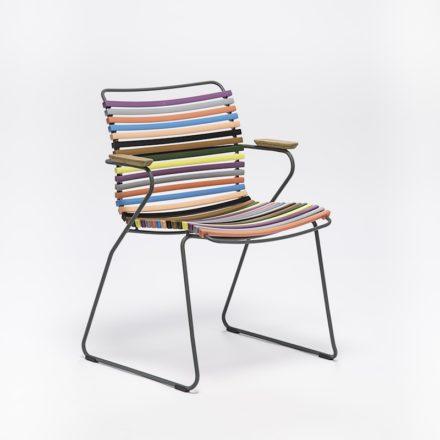 """Stuhl """"Click"""" von Houe, mit Armlehnen, Farbe bunt"""