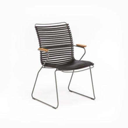 """Stuhl """"Click"""" von Houe, hohe Rückenlehne, Farbe schwarz"""