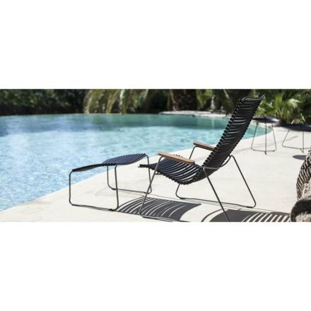 "Houe ""Click"" Lounge Chair mit Hocker"