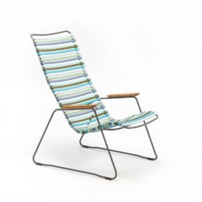 "Houe ""Click"" Lounge Chair, bunt - kühle Farben"