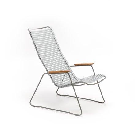 """Lounge Chair """"Click"""" von Houe, Farbe grau"""