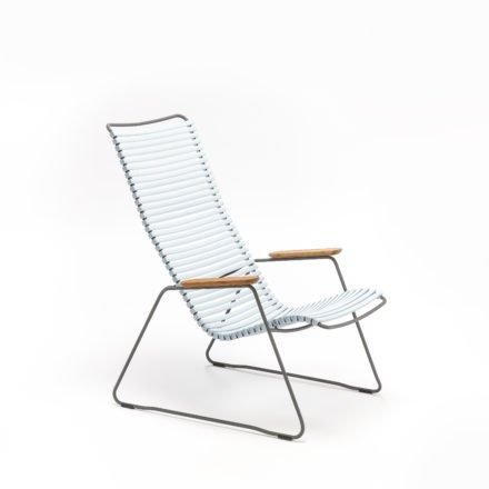"""Lounge Chair """"Click"""" von Houe, Farbe hellblau"""