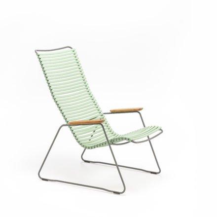 "Lounge Chair ""Click"" von Houe, Farbe hellgrün"