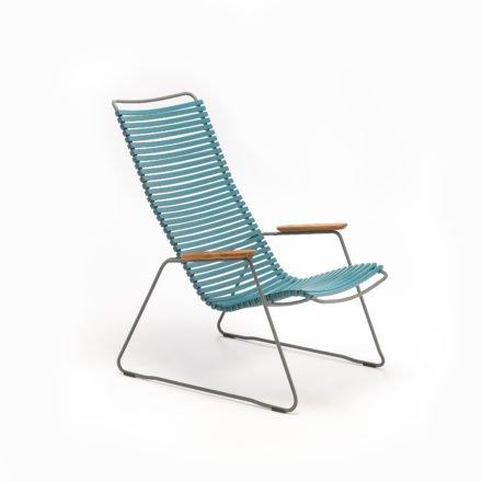 "Lounge Chair ""Click"" von Houe, Farbe petrol"
