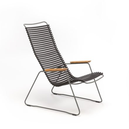 """Houe Loungesessel Click,Lounge Chair """"Click"""" von Houe, Farbe schwarz"""