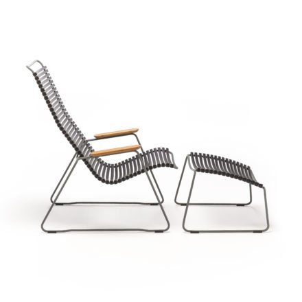 "Houe ""Click"" Lounge Chair, Farbe schwarz"