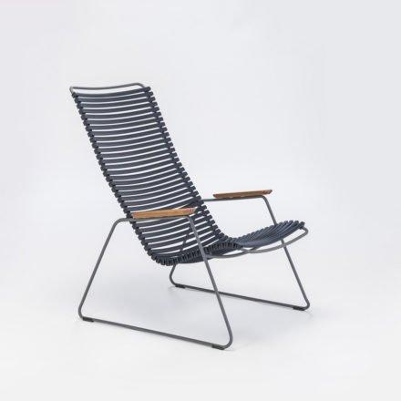 """Lounge Chair """"Click"""" von Houe, Farbe dunkelblau"""