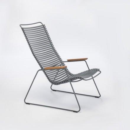 """Lounge Chair """"Click"""" von Houe, Farbe dunkelgrau"""