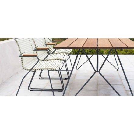 """Houe Tisch """"Sketsch"""" mit Stühlen """"Click"""""""
