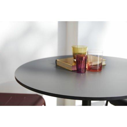 """Cane-line Lounge-/Bistrotisch """"Go"""", Tischplatte HPL grau"""