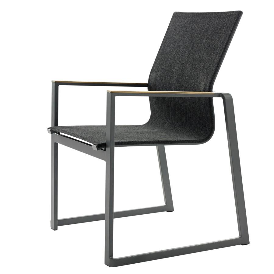 gartenstuhl alu textil. Black Bedroom Furniture Sets. Home Design Ideas