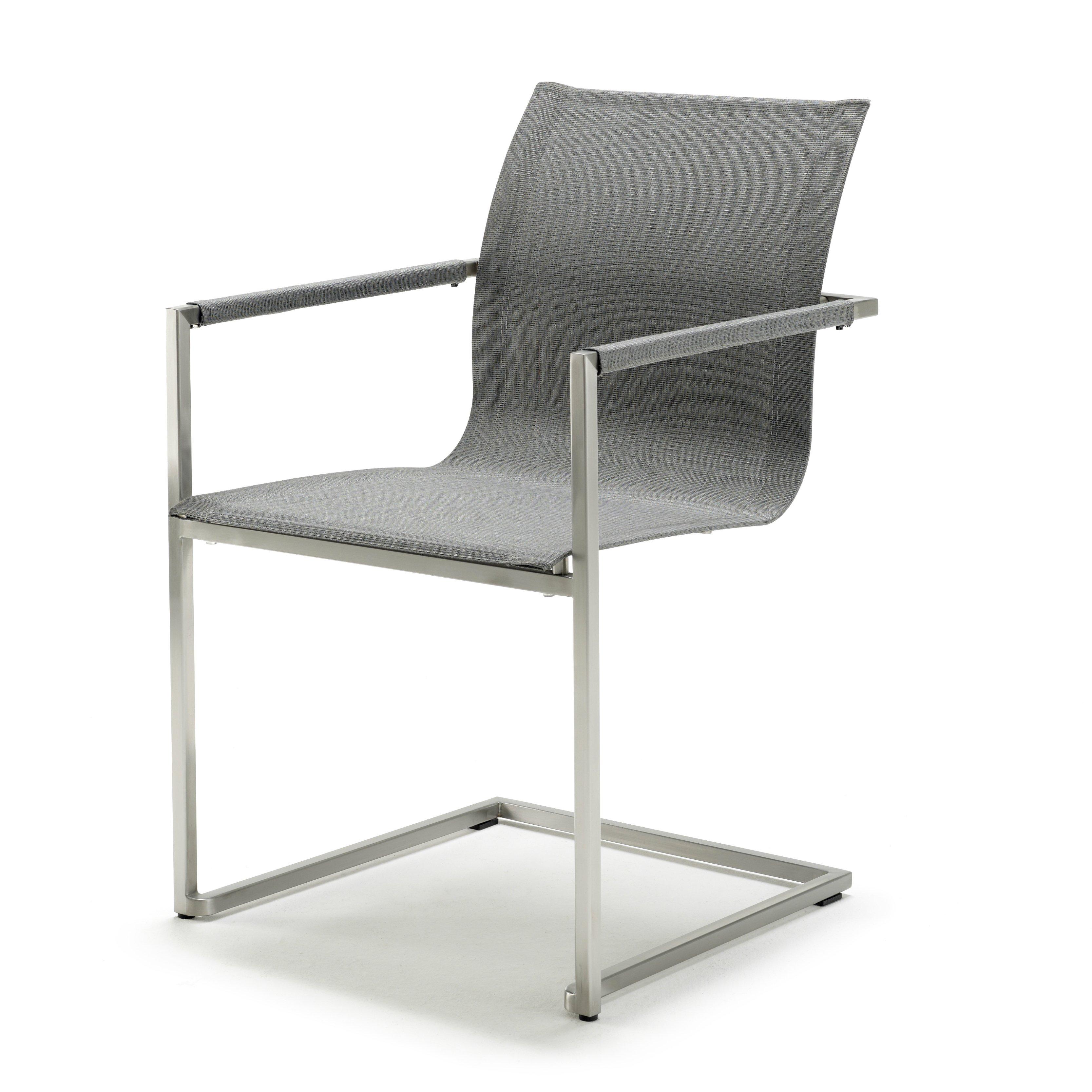 solpuri pure freischwinger edelstahl leisuretex. Black Bedroom Furniture Sets. Home Design Ideas